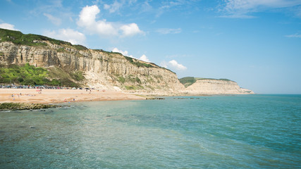 Beach of Hastings England