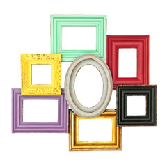 vintage style frames for photo and picture
