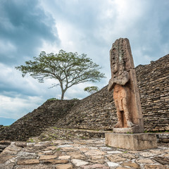 Ruined Mayan city Tonina, Chiapas, Mexico