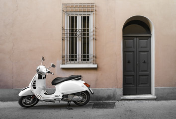Typical italian motorcycle