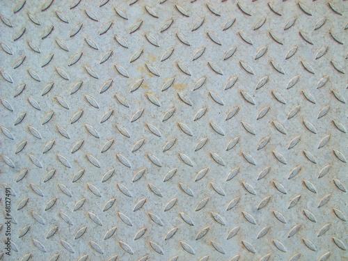 canvas print picture Stahlplatte