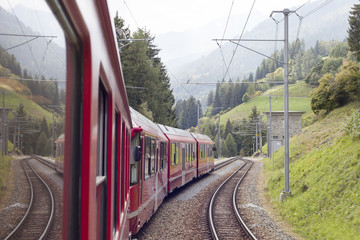 Alpine train.