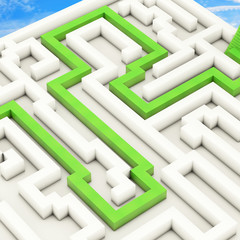 Labyrinth - 3D Render