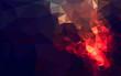 Geometric fire - 68130092