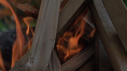 slowmotion fire