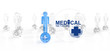 medical network graphic sign