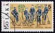 Postage stamp Poland 1986 First Trip to Bielany