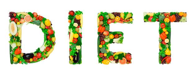 Healthy alphabet - DIET