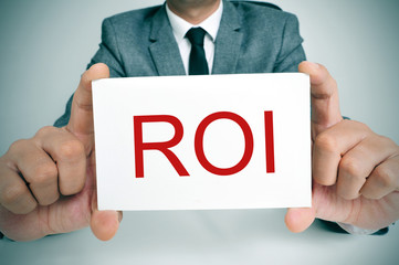 ROI, acronym for Rate of Interest or Return on Investment