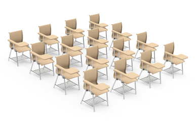 the table chairs
