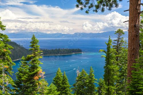 Spoed canvasdoek 2cm dik Grote meren Emerald Bay, Lake Tahoe