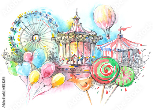 carousels - 68133298