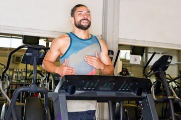 Fitnesstraining auf dem Laufband