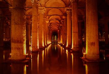 Basilica Cistern@Istanbul