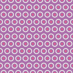 Beautiful vector seamless pattern (tiling). Pink, purple