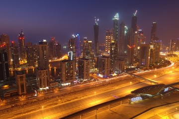 Blue Hour over Dubai