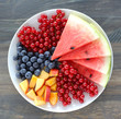canvas print picture - Summer fruits