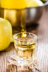 Apple Liqueur Shot