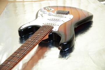 Electric guitar.