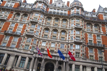 London, Mandarin Oriental luxury hotel