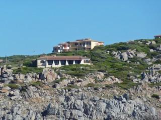 edifici residenziali sulla costa mediterranea