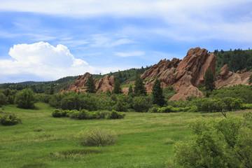Roxborough State Park In Colorado