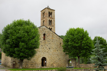 Church of Sant Climent de Taull in Vall de Boi