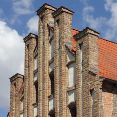Gotischer Staffelgiebel in Anklam