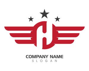 H Wing Logo
