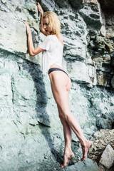 Fashion on the rocks