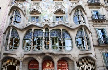 CASA BATLLO,BARCELONA, building designed by ANTONI GAUDI