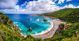 Fototapety Beautiful ocean coastline in Costa Paradiso, Sardinia