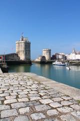Tours médiévales de La Rochelle, France
