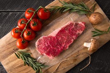 Grilling Strip Loin Steak Series: Raw Meat