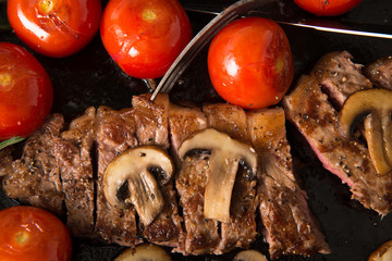 Grilling Strip Loin Steak Series: The Steak is Ready and Sliced