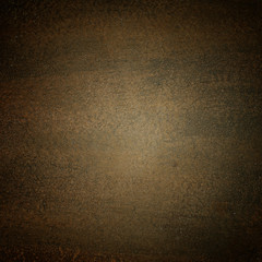 Brown texture abstract  background with vignette