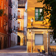 old street in Logrono