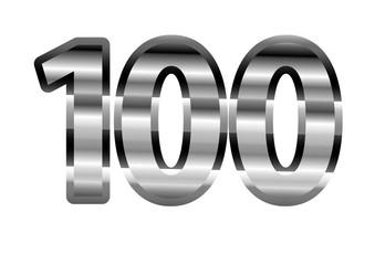 100 Cromado