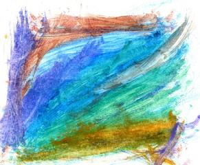 Colorful Gouache