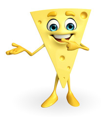 Cheese Character with holding pose