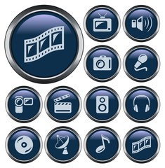 Multimedia button set