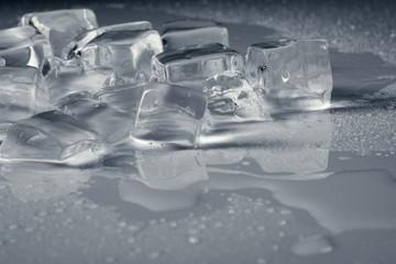 wet ice background