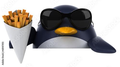canvas print picture Fun penguin