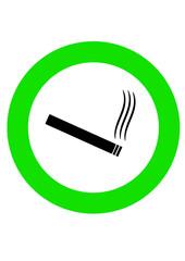 Raucher Willkommen Zeichen