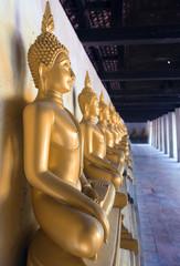 Buddha statue at Wat Phutthaisawan in Ayutthaya, Thailand