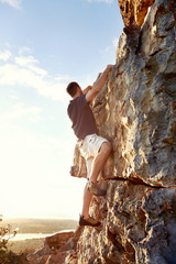 Determined to get to the top