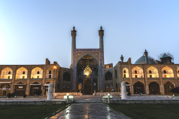 The Shah Mosque in Isfahan