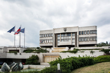 Parliament building in Bratislava, Slovakia