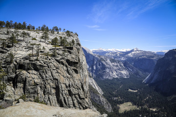 Bergtal im Yosemite National Park, USA