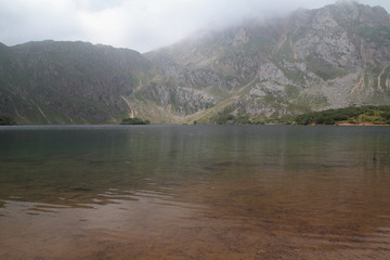 Lago el Valle. Parque Natural de Somiedo, Asturias.